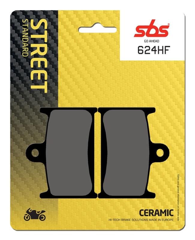 Pastilla de freno SBS P624-HF