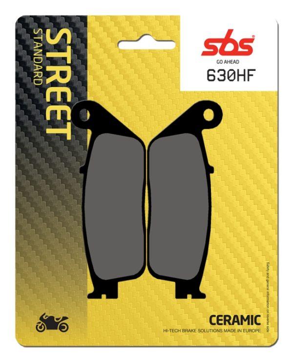 Pastilla de freno SBS P630-HF