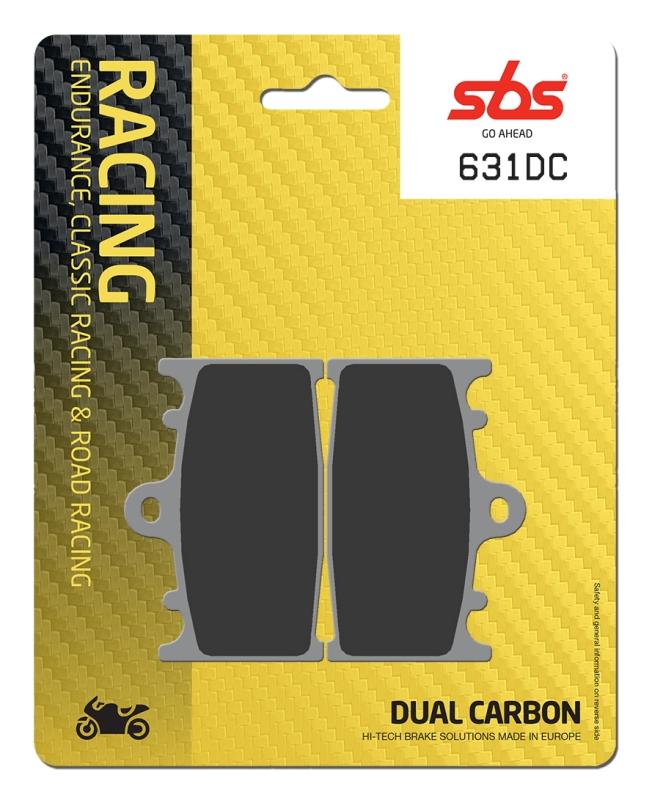 Pastilla de freno SBS P631-DC