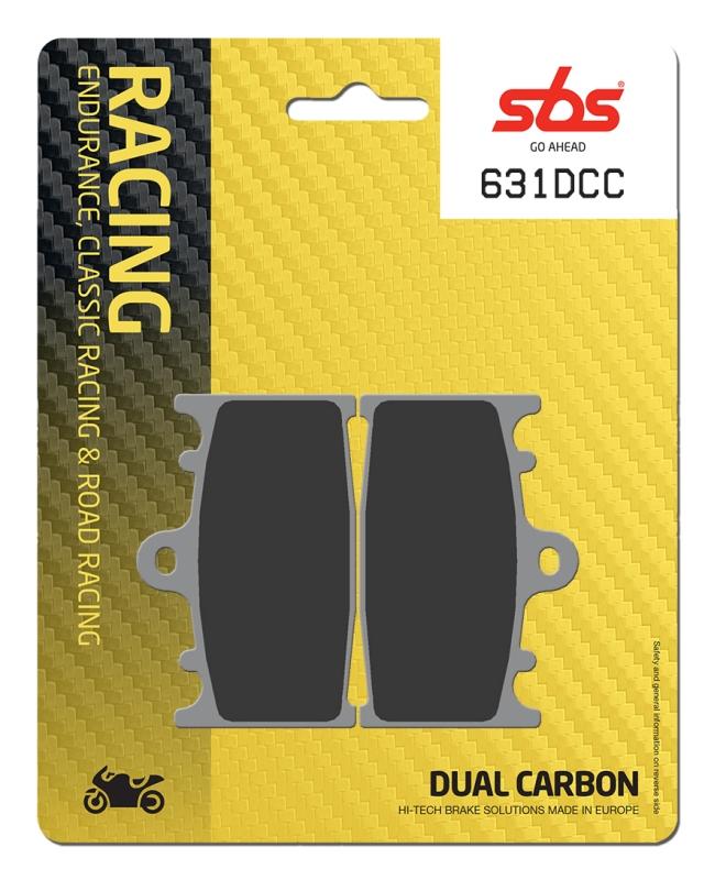 Pastilla de freno SBS P631-DCC