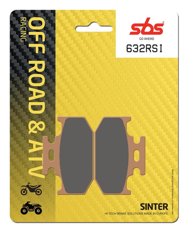 Pastilla de freno SBS P632-RSI