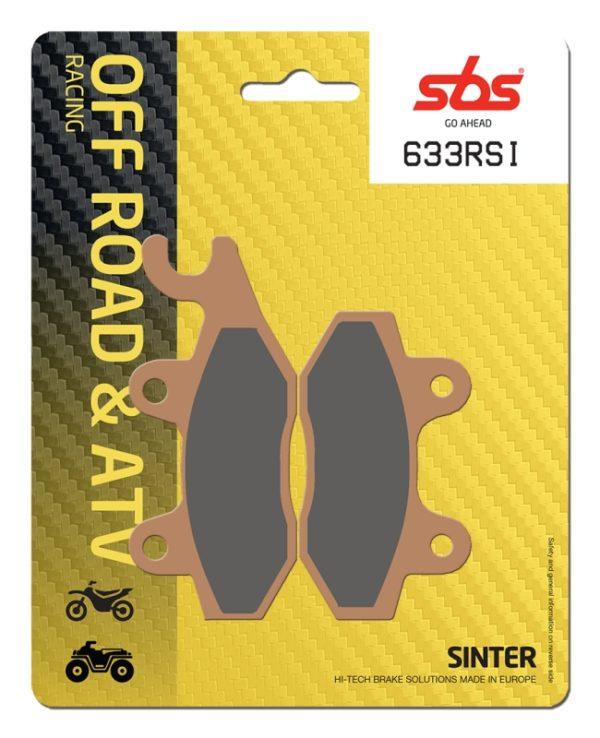 Pastilla de freno SBS P633-RSI