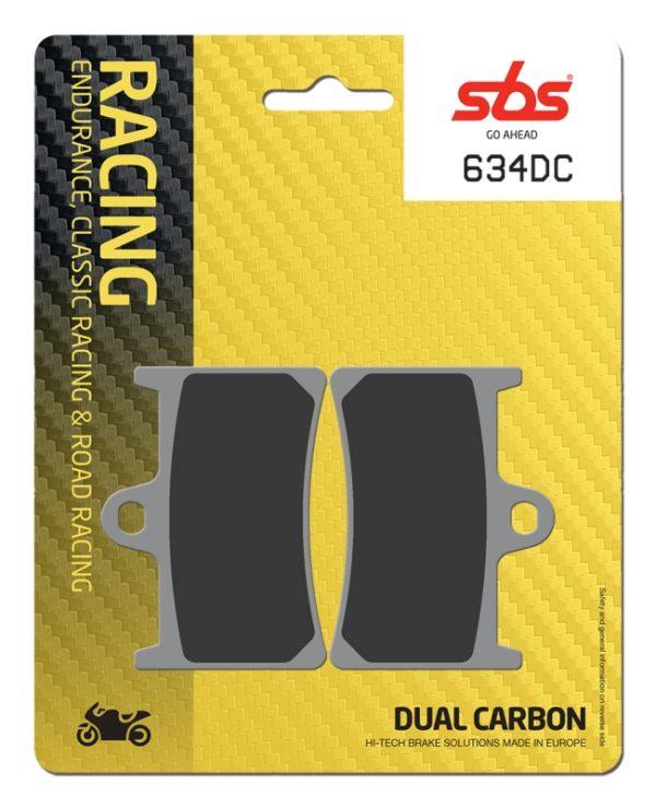 Pastilla de freno SBS P634-DC