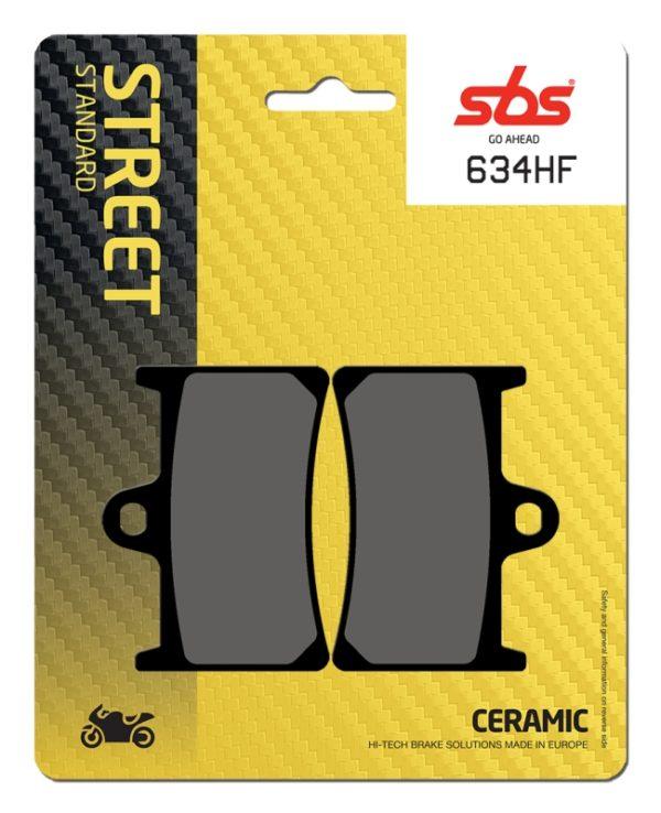 Pastilla de freno SBS P634-HF