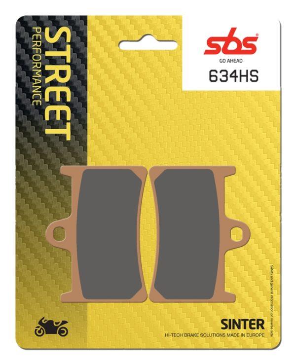 Pastilla de freno SBS P634-HS