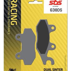 Pastilla de freno SBS P638-DS