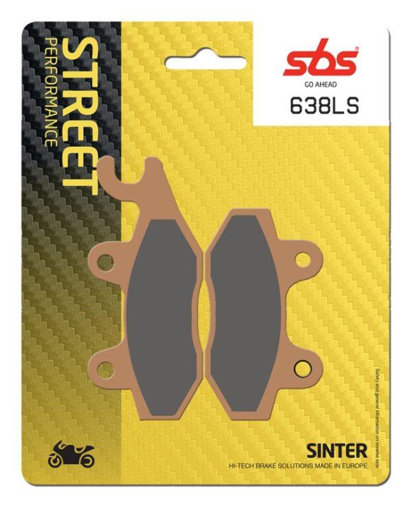 Pastilla de freno SBS P638-LS