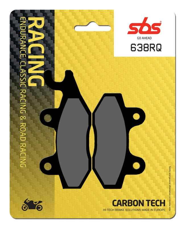 Pastilla de freno SBS P638-RQ