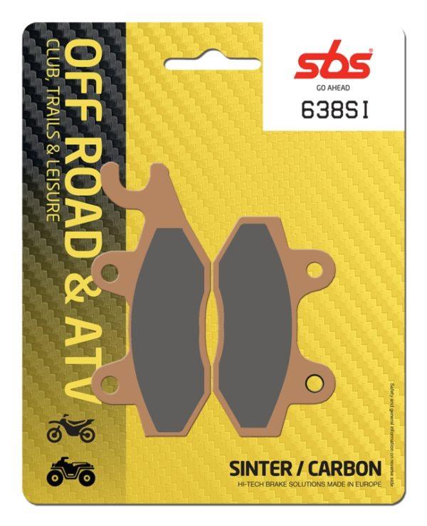 Pastilla de freno SBS P638-SI