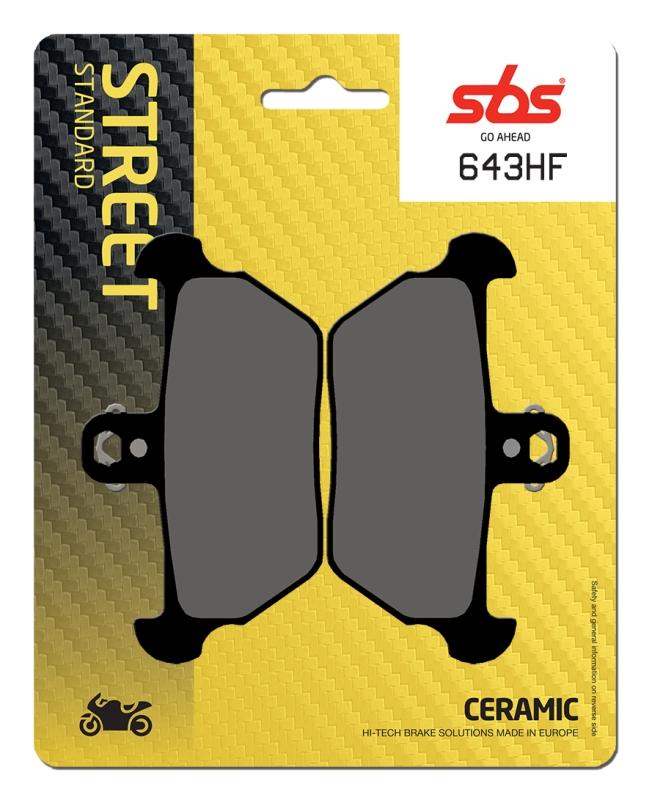 Pastilla de freno SBS P644-HF