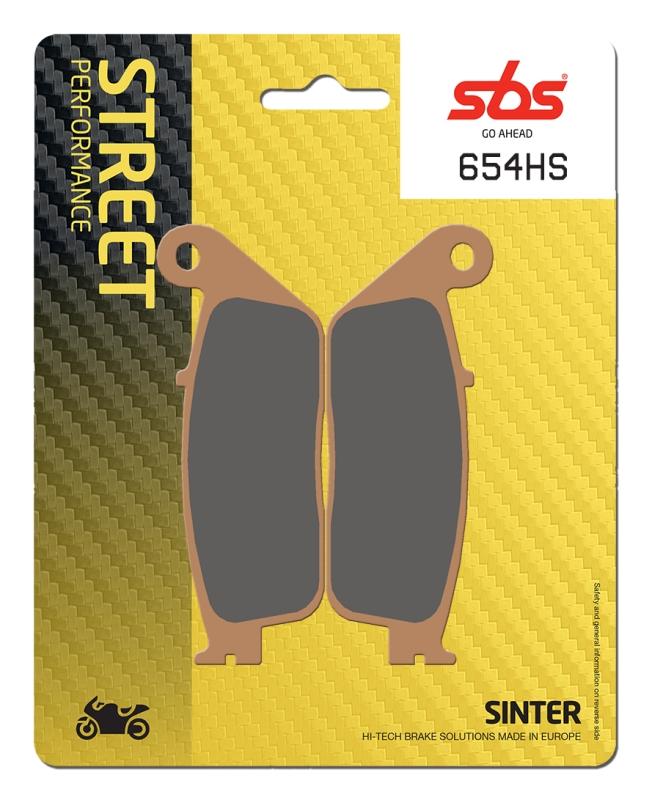 Pastilla de freno SBS P654-HS