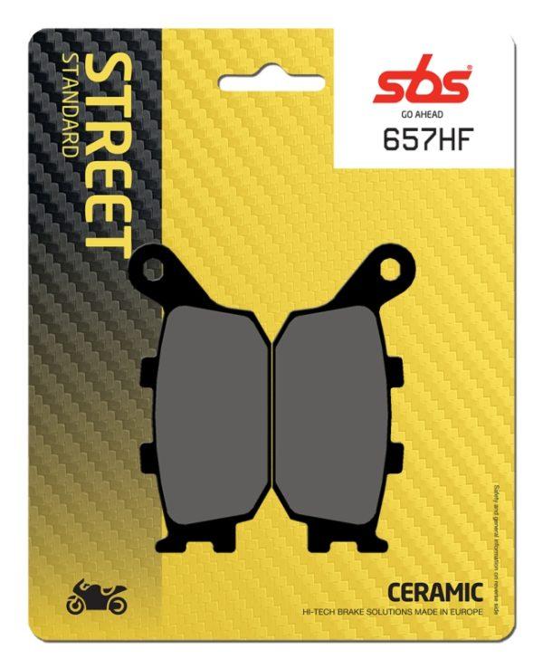 Pastilla de freno SBS P657-HF