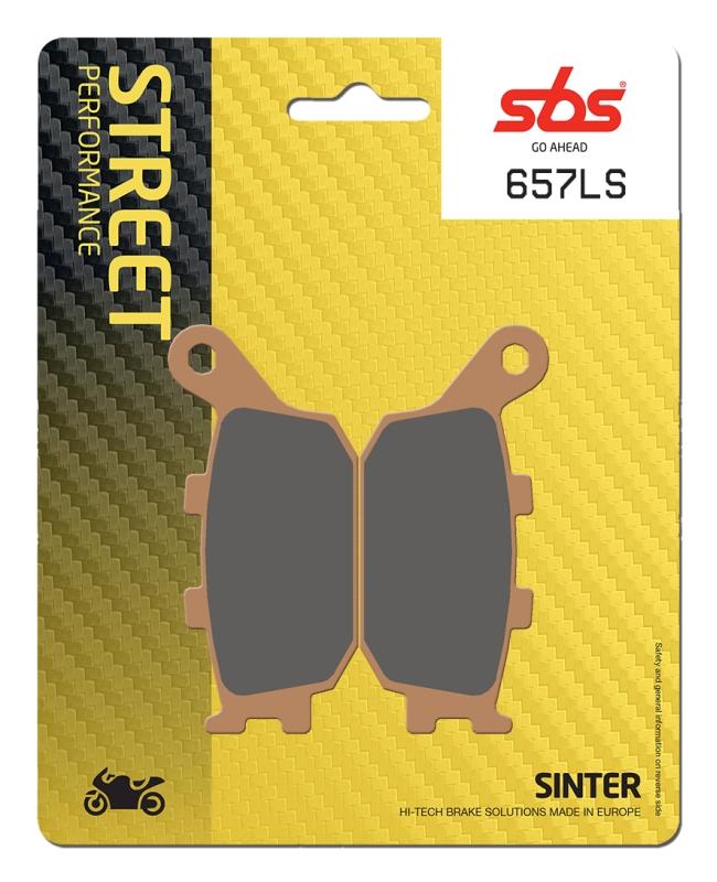 Pastilla de freno SBS P657-LS