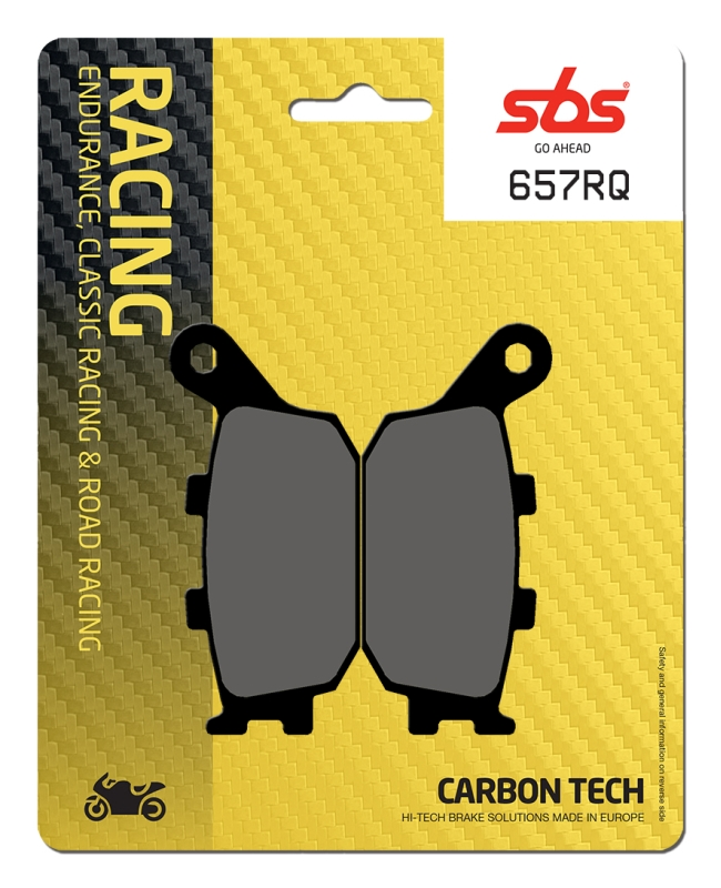 Pastilla de freno SBS P657-RQ