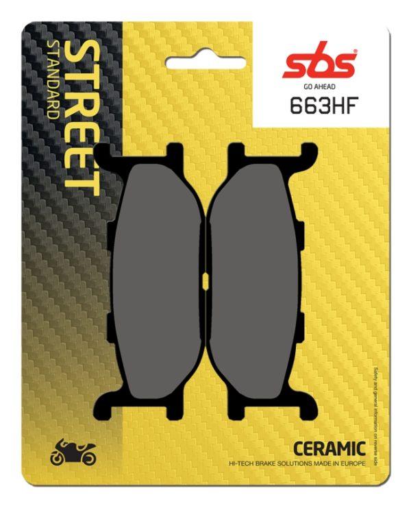 Pastilla de freno SBS P663-HF