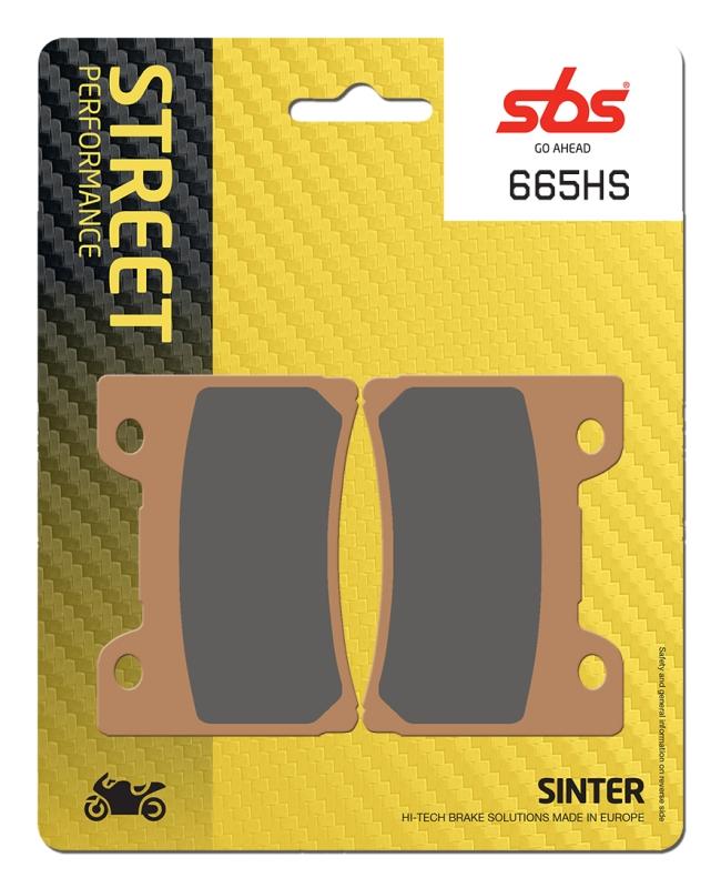 Pastilla de freno SBS P665-HS