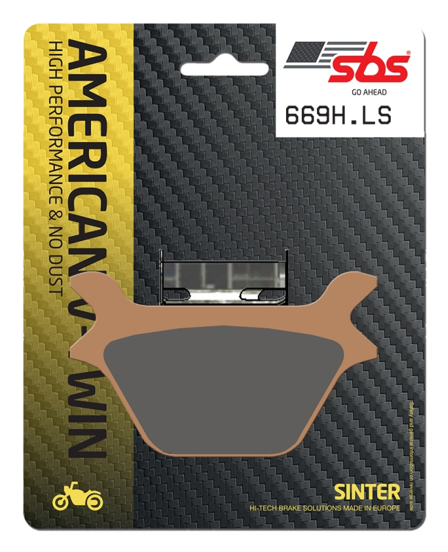 Pastilla de freno SBS P669-LS