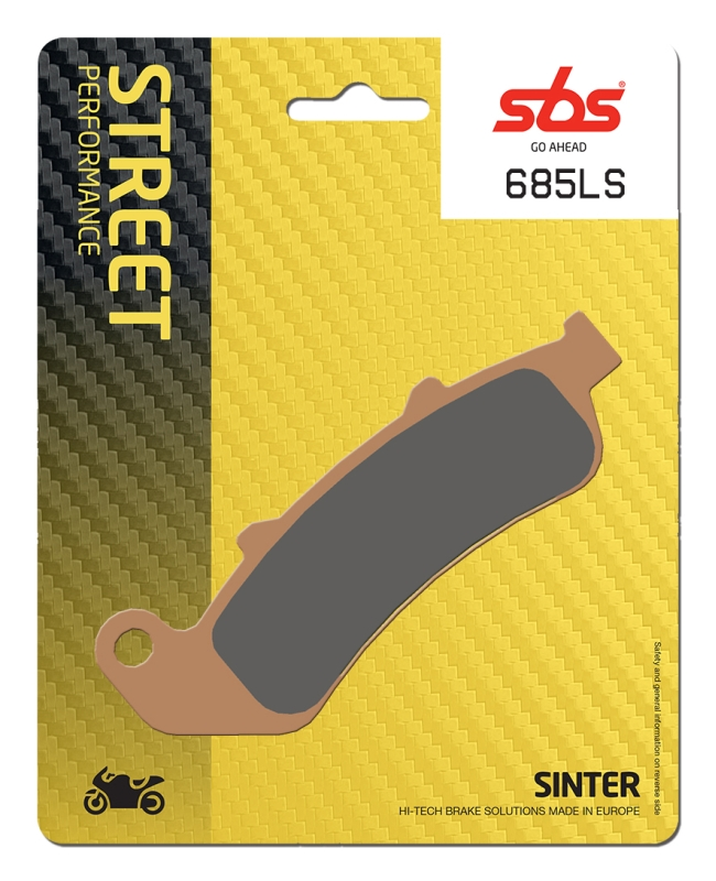 Pastilla de freno SBS P685-LS