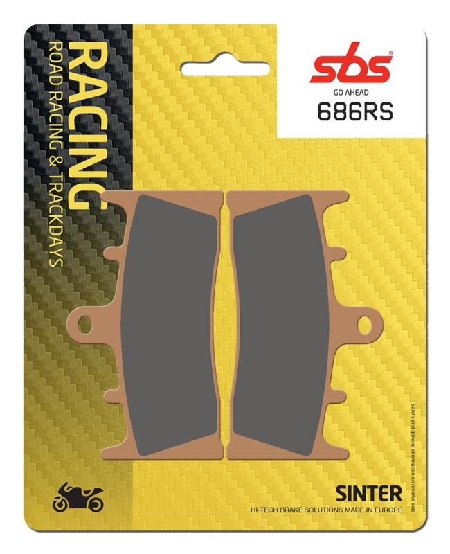 Pastilla de freno SBS P686-RS
