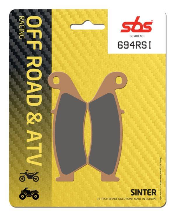 Pastilla de freno SBS P694-RSI