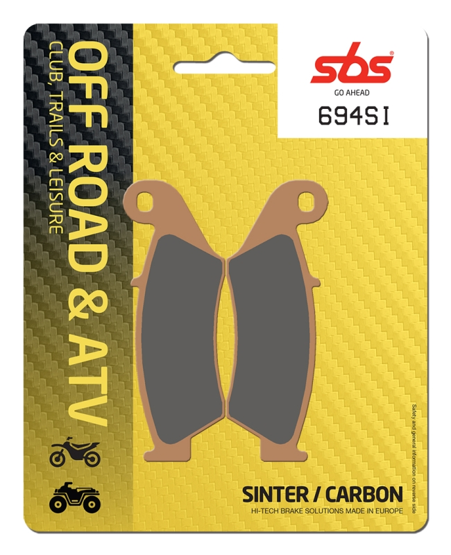 Pastilla de freno SBS P694-SI