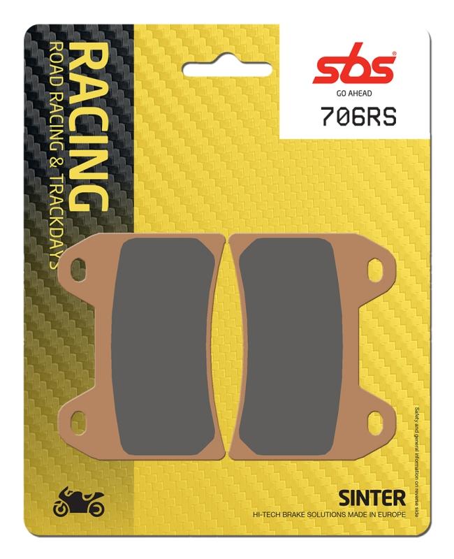 Pastilla de freno SBS P706-RS