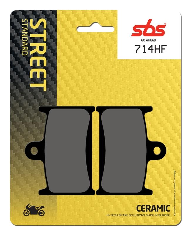 Pastilla de freno SBS P714-HF