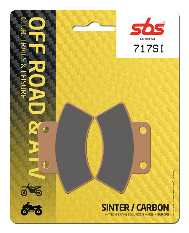 Pastilla de freno SBS P717-SI
