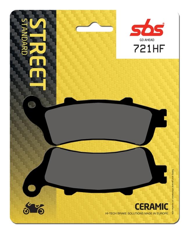 Pastilla de freno SBS P721-HF