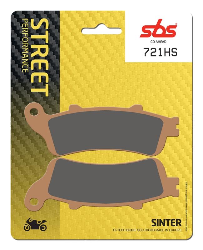 Pastilla de freno SBS P721-HS