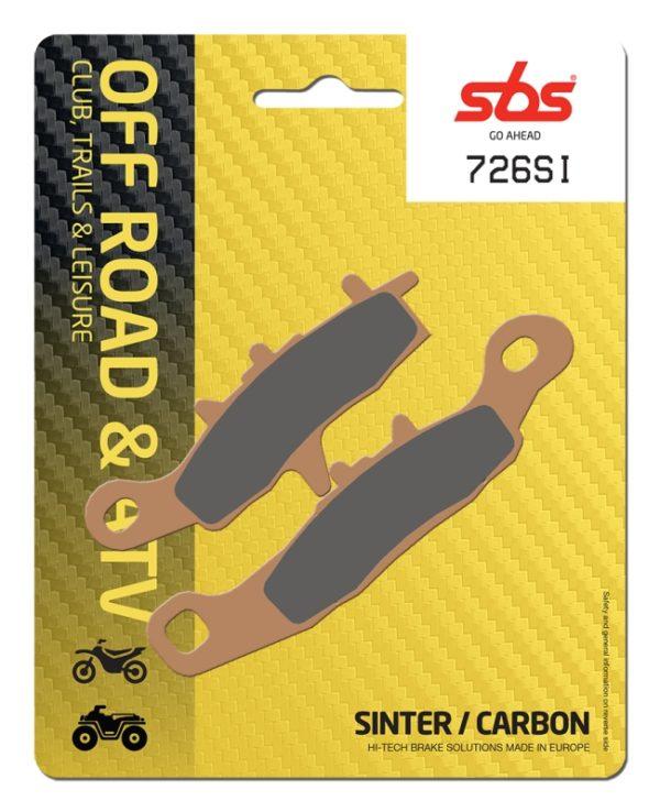 Pastilla de freno SBS P726-SI