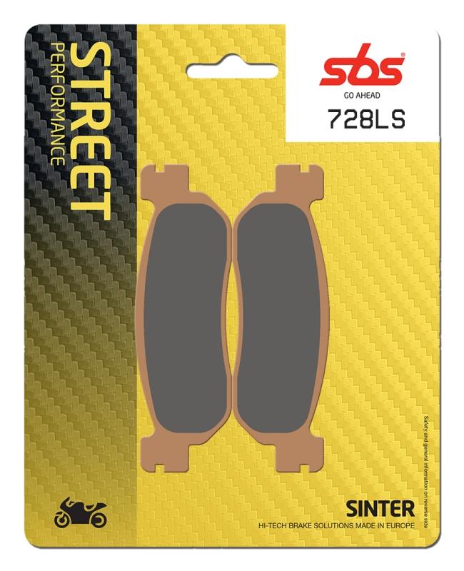 Pastilla de freno SBS P728-LS