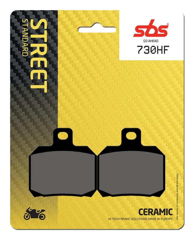 Pastilla de freno SBS P730-HF