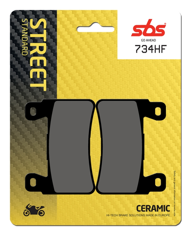 Pastilla de freno SBS P734-HF