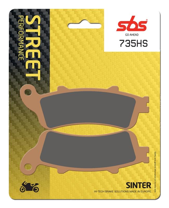 Pastilla de freno SBS P735-HS