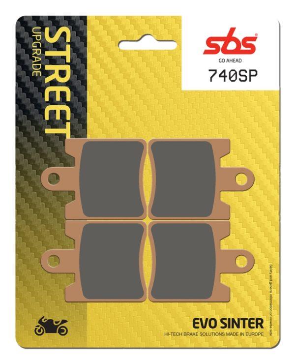 Pastilla de freno SBS P740-SP