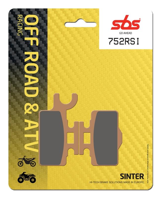 Pastilla de freno SBS P752-RSI