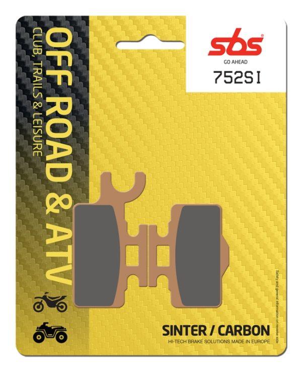 Pastilla de freno SBS P752-SI