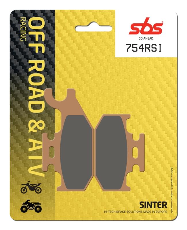 Pastilla de freno SBS P754-RSI