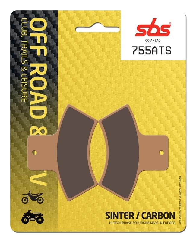 Pastilla de freno SBS P755-ATS