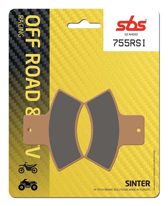 Pastilla de freno SBS P755-RSI