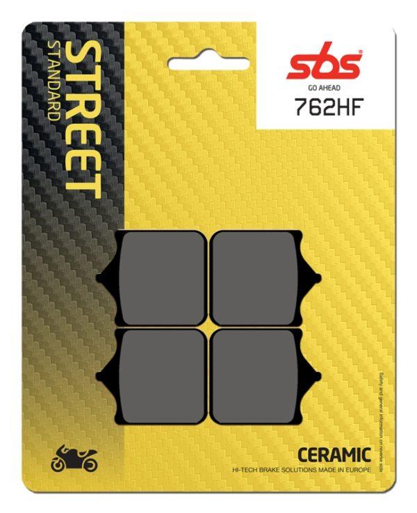 Pastilla de freno SBS P762-HF