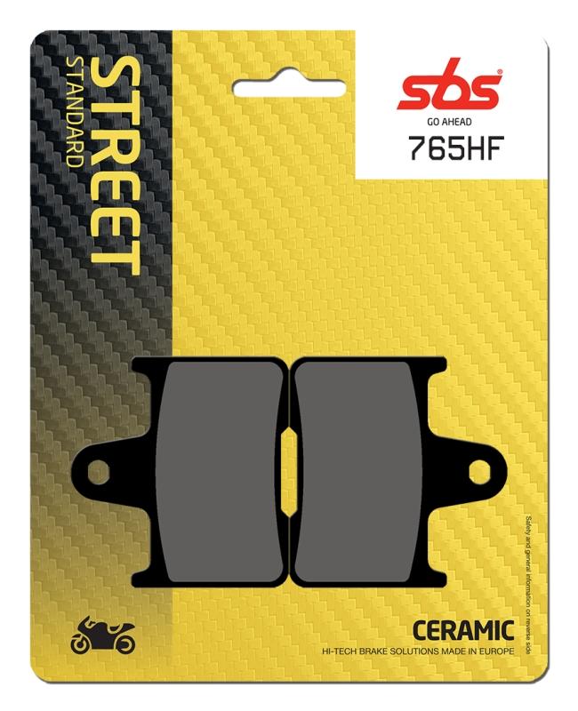 Pastilla de freno SBS P765-HF