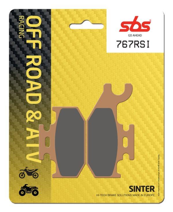 Pastilla de freno SBS P767-RSI