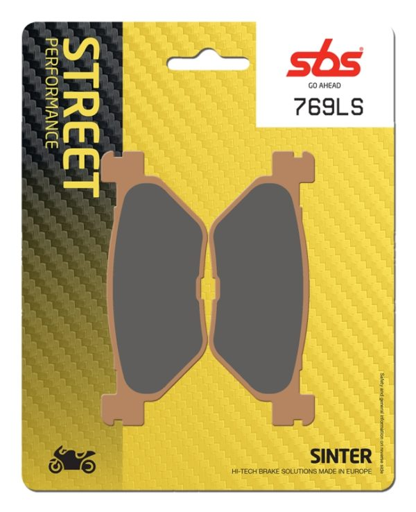 Pastilla de freno SBS P769-LS