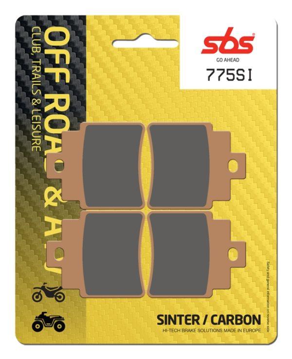 Pastilla de freno SBS P775-SI