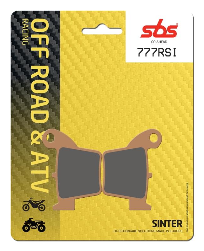 Pastilla de freno SBS P777-RSI