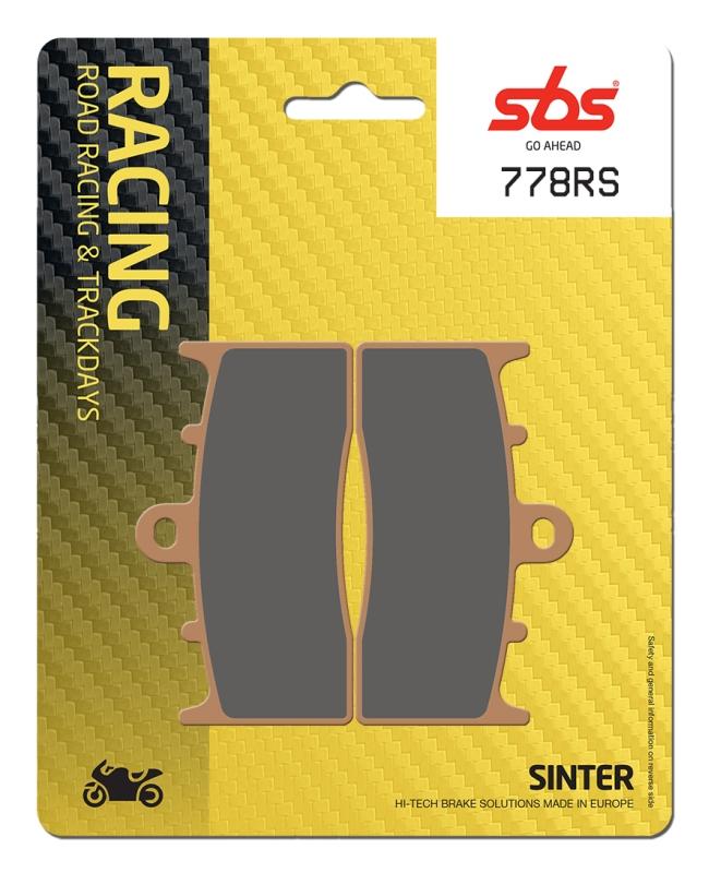 Pastilla de freno SBS P778-RS