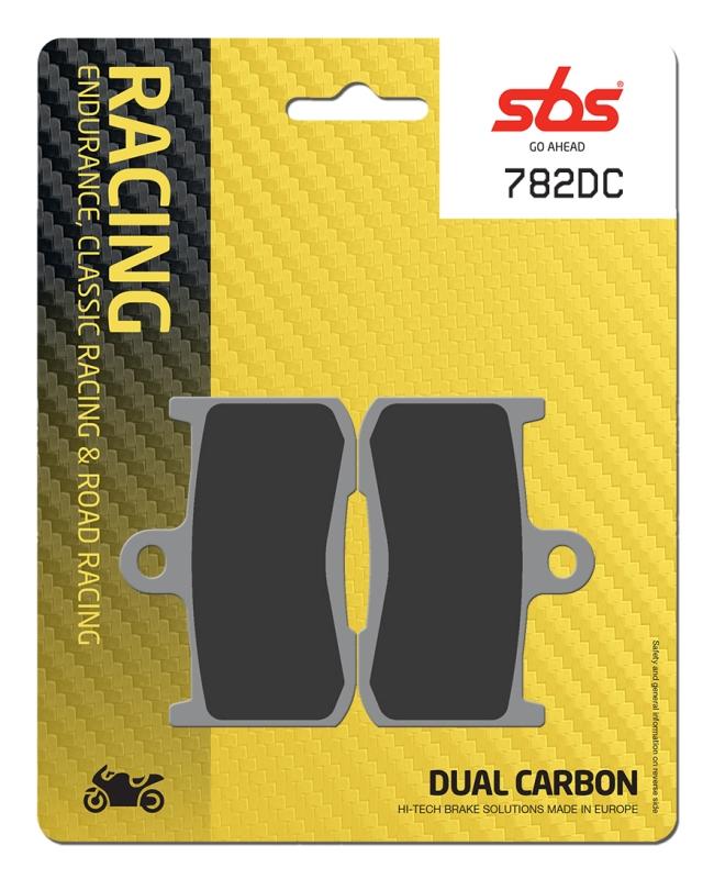 Pastilla de freno SBS P782-DC