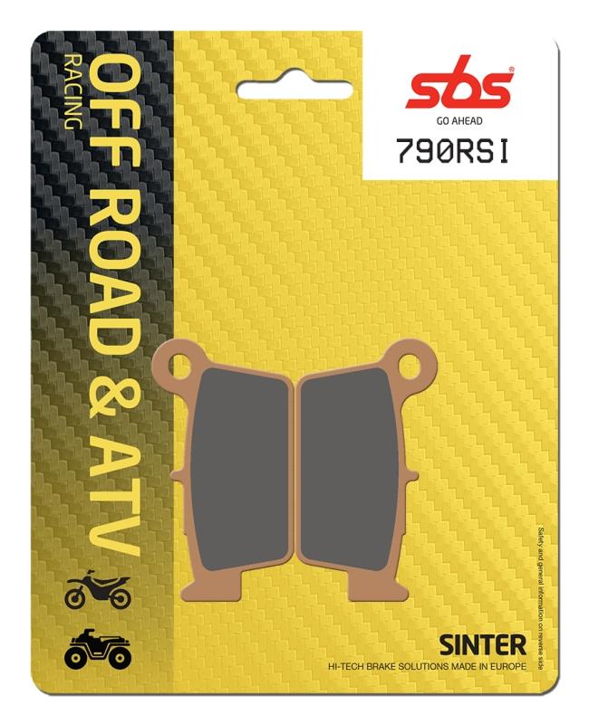 Pastilla de freno SBS P790-RSI